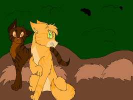 Meeting Sandpaw and Dustpaw by Legend-series