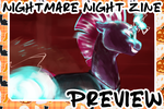 OUT NOW! - Nightmare Night Zine Preview! by IceOfWaterflock