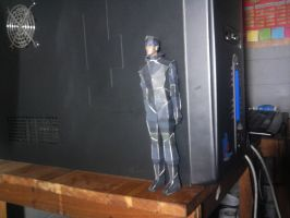 solid snake papercraft by el-morenazo