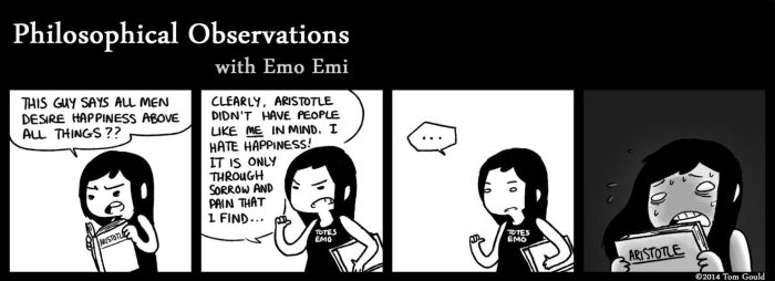 Observations - The Emo-Aristotelian Paradox by TheGouldenWay