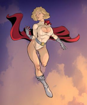 Power Girl by Lilli92WGMC