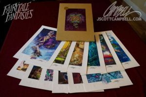 JSC Limited Edition Prints by J-Scott-Campbell