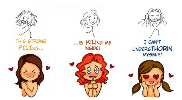 Dwarves' fangirls... by SusiKISS