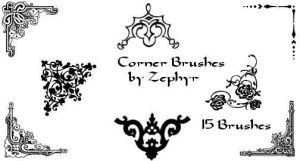 Corner Brushes by zephyrshadows
