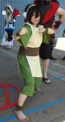 Toph Cosplay by frozentofu