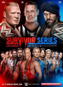 WWE Survivor Series 2017 Official Poster by SidCena555