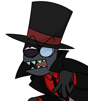 hatter face by Nukeleer