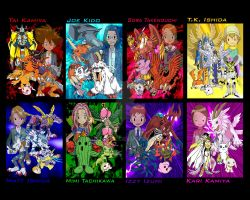 Digimon Compiled by racookie3