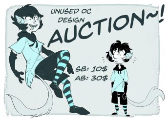 OC Adoptable Auction CLOSED by 0ktavian