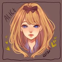 Alice by nouriesse