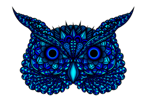 Blue Owl by Hummingbird26