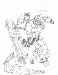 G1 Megatron by Dragonsflame2000