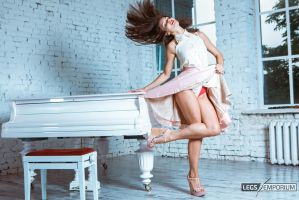 Lovely Legs and Hair with the Legs Goddess - Elena by LegsEmporium