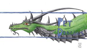 Pet Dragons Logo entry by Scellanis