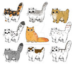 25 Point Cattos  [Open] by DoodlesWithACatto