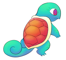 Squirtle by ArchaosTeryx