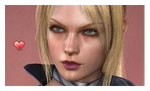 Nina Williams stamp by WhiteDevil350