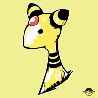 Ampharos POP Head by rey-menn