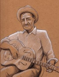 Son House by SethWolfshorndl