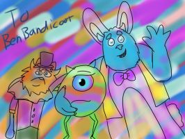 Easter in Monstropolis by Cartuneslover16 by BenBandicoot