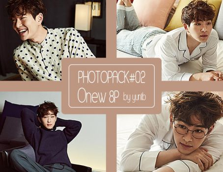 PHOTOPACK #02 SHINee Onew-8p by yuntb