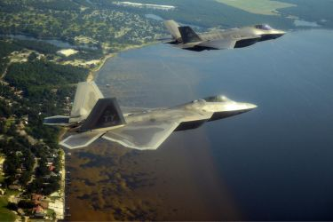 Fifth-Generation Jet Fighters by MilitaryPhotos