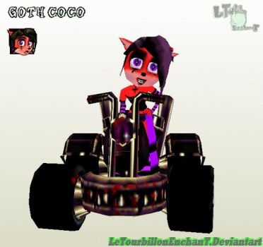 CNK Edit - Goth Coco by LeTourbillonEnchanT