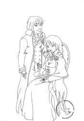 042511 Odette and Conn inks by Asatira