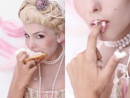 Marie Antoinette: Gluttony by fatallook