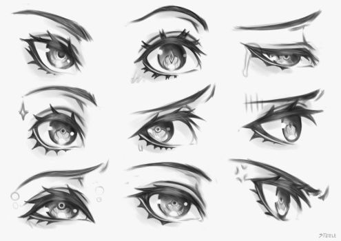 Eyes practice by steelzakung222