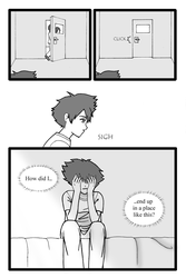 Page 2 of a Digimon Doujinshi by cooldas