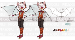 Vampirelle: Auction [CLOSED] by pikaxiu