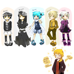 .: Soul Eater Ocs :. by Finni-NF