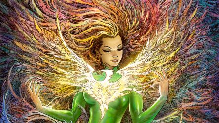 Phoenix-Resurrection-Cover-Detail by Nisachar