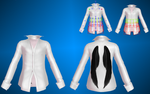 Mens shirt. MMD by NekaSan