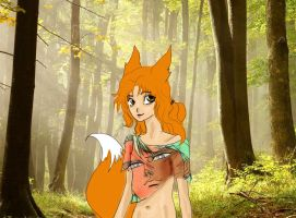 Zoi in the woods by zoiocen