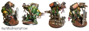Ork brute/hulk angles shot by Gnatsies