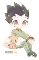 Gon Freecs by Neyruu