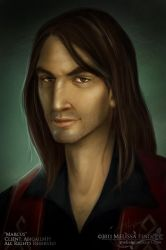 Character Portrait: Marcus by MelissaFindley