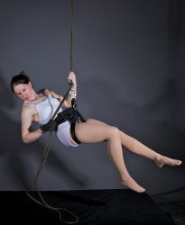 Rope Harness Lowering - Pose Reference by SenshiStock