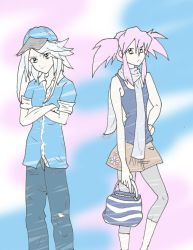 Genis and Presea in Our World by kratosluvr123