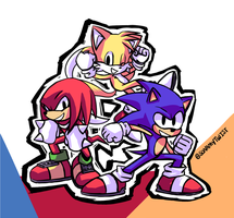 Cuz we're SONIC HEROES!! by sonamytwist