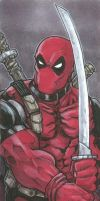 Marvel Premier card - Deadpool (Front) by DKHindelang