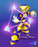 Triple Man by MegaPhilX