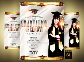 Graduation Event Poster by Grandelelo