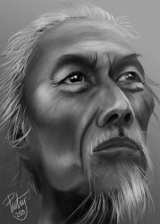 FACE STUDY #26 by pictsy