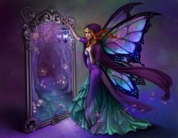 Reflections of Aine by Enchantress-LeLe