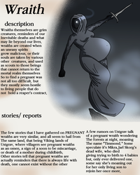 Creature profile: Wraith by ChaoticBabylon