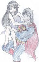 Superman and Lois Lane - The Scenic Route by Robin250