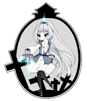 Chibi Ghost by MiisaoIllustrations